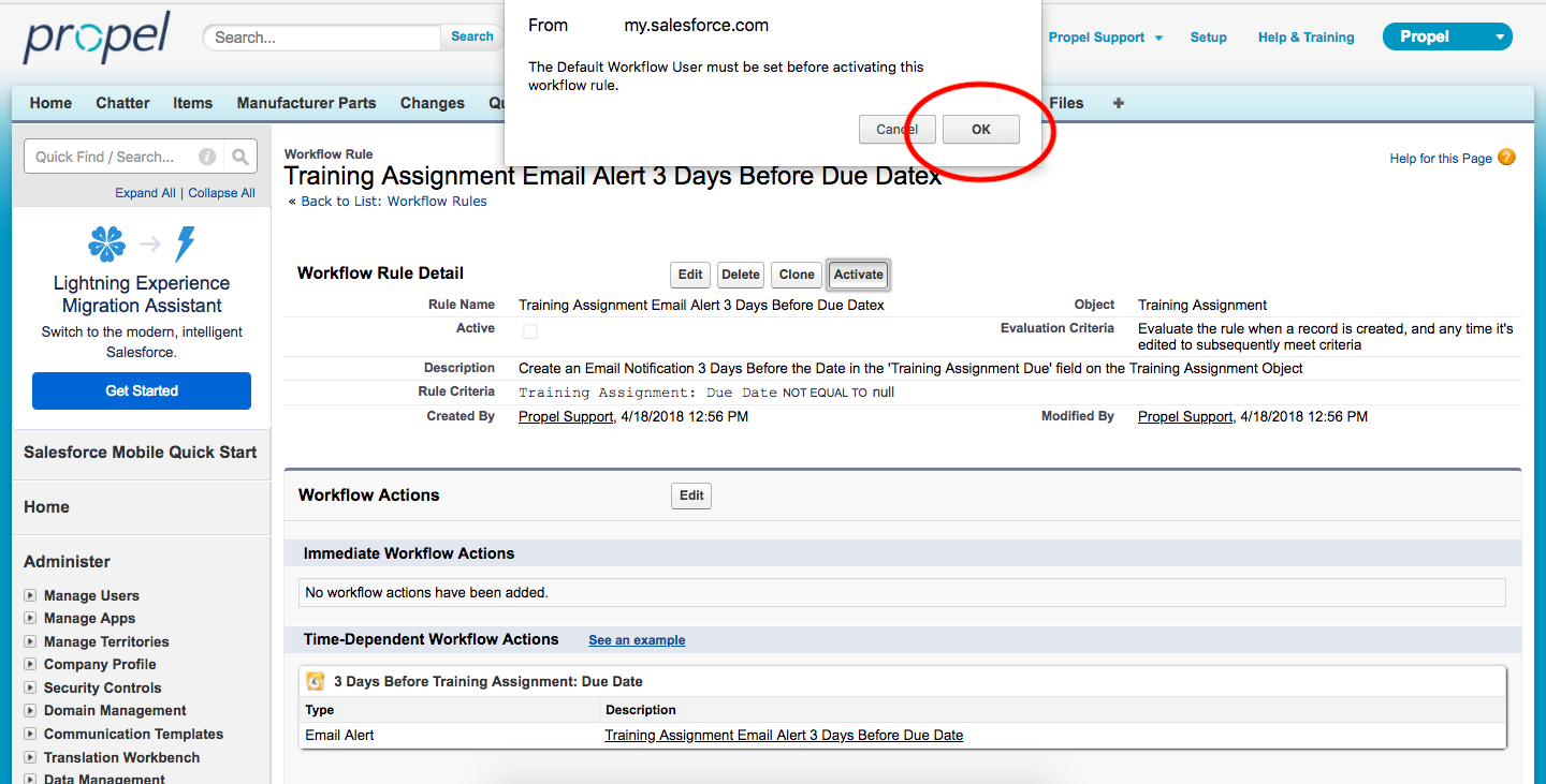 Configuring Time Based Email Alerts Or Notifications Propel